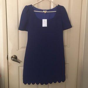 Anthropologie Dresses - Anthropologie Leifsdottir Blue Arana shift dress